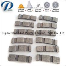 Segment de diamant de foret de noyau de Turbo de dessus de toit de Reinfroce concret