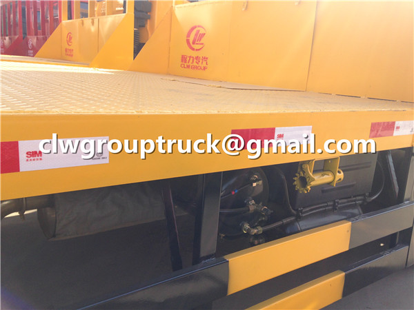 Flatbed Trailer Truck Gasholder