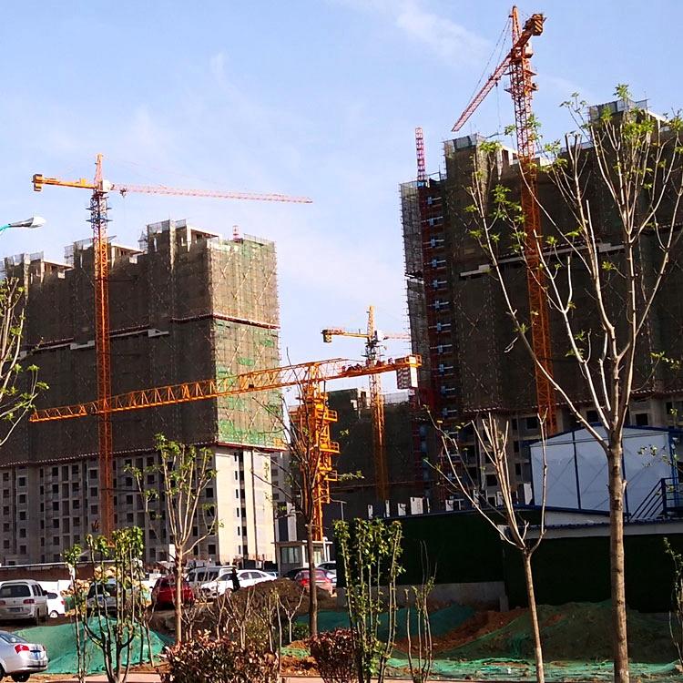 Wharf Construction Crane