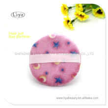 Personal Care Pink Sponge Puff With Flower