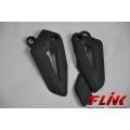 Plaques de talon en fibre de carbone pour Triumph Tiger 800
