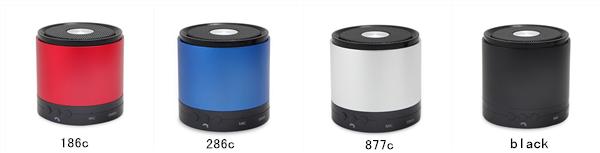 colorful bluetooth speaker