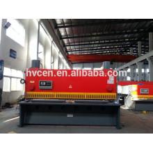 Tijeras de guillotina de chapa de metal qc11y-6 * 8000 / máquina de corte de chapa hidráulica