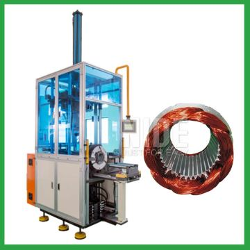 Stator automatic middle winding forming machine