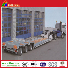 Freistehendes Gooseneck Low Bed Semi Trailer für Maschine