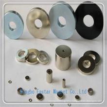 N38 Nickel Plating NdFeB Ring Magnet for High Quality Speaker
