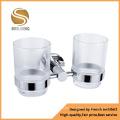 Aluminium Double Square Fitting Tumbler Holder (AOM-8302)