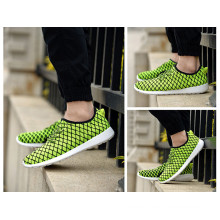 Green: Sports Shoes Breathable Weave