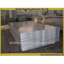 Trabajos de aislamiento de chapa / placa de aluminio de 6 mm