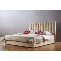 High Head Board Flax Fabric Bed for Bedroom Furniture (A17)