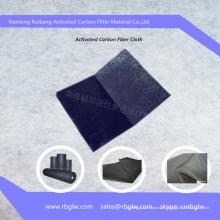 Filtration active de charbon de bois de fibre de carbone