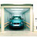 XIWEI 5000KG Big Volume Two Pannel Stainless Door Side Open Car Elevator