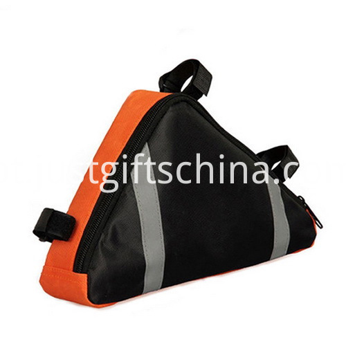 Promotional Waterproof Polyester Bicycle Bags Triangle Shaped (3)