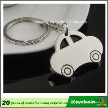 Carro de metal forma Keychain