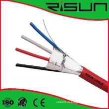 4 Cores Sicherheit / Alarmanlage Kabel mit Schild, CE-zertifiziert