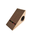 Wedge Shaped Corrugated Scratcher toys of cats