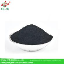 Pó de carvão para produção de carvão churrasco
