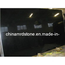 Natural Black Galaxy Granite for Tombstone Slab