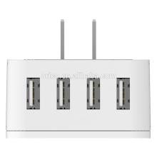 ORICO S4U Adaptador Multifuncional Global de Viagem 4 Carregador de parede porta USB
