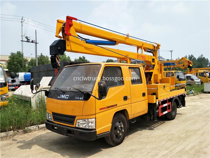 overhead working truck