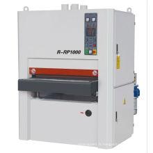 Machine de ponçage R-RP1000 / Machine de ponçage à bandes larges au bois / Seringue à bande large, machine à poncer