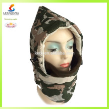 Polar fleece sports headwear invierno sombrero y gorras mascarilla de esquí