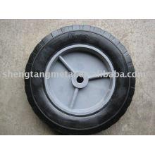 roue en caoutchouc solide