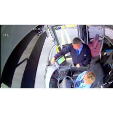 câmera de segurança do veículo câmera de traço para ônibus e caminhão