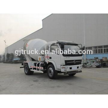 3-6 mètres cubes Shacman 4X2 drive bétonnière camion