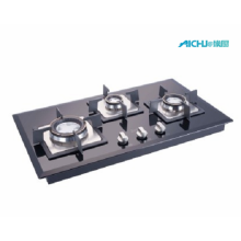 Glen Auto Ignition Glass Hob 3 Quemadores