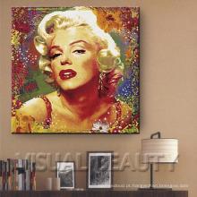 Pinturas do pop art de Marilyn Monroe