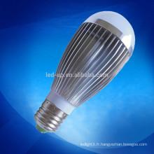 Ampoule à levier à faible décoloration à haute lumière 7w ra> 80