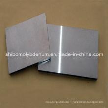 Plaques polies de tungstène pour le four à hautes températures