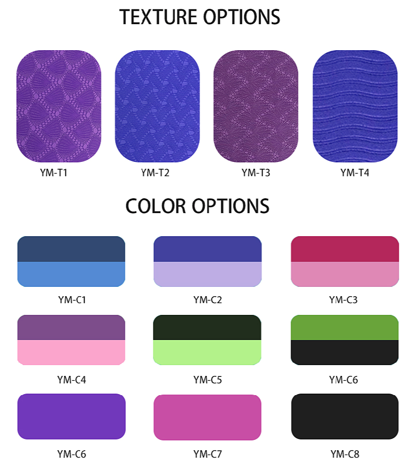 Texture And Color Options