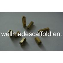 Metal Concrete Formwork Hexagonal Nut Tie Bar Connector