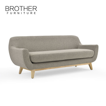 Cama de sofá comercial moderna del durmiente para la sala de estar, sofá largo