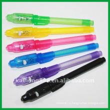 Волшебная невидимая УФ секрет ручки с водонепроницаемые чернил