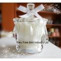 Pots en verre décoratifs en gros de bougie avec la qualité