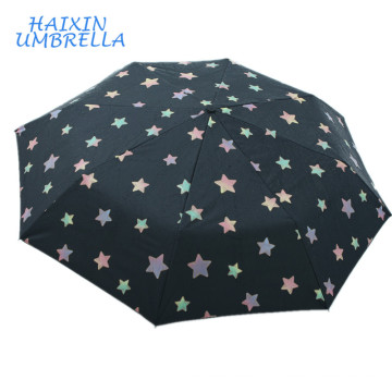 Factory Price Strict Quality Control Fashion Amazing Customized Star Design Magic Special Color Changing Umbrella When Wet