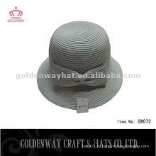 Модные бумажные шляпы с Bowknot GW072