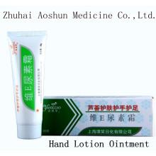 Vitamina E Urea Frost Médico Aleo Loção para Mãos Pomada