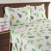 Colorful Organic Cotton Sateen Printed Sheet
