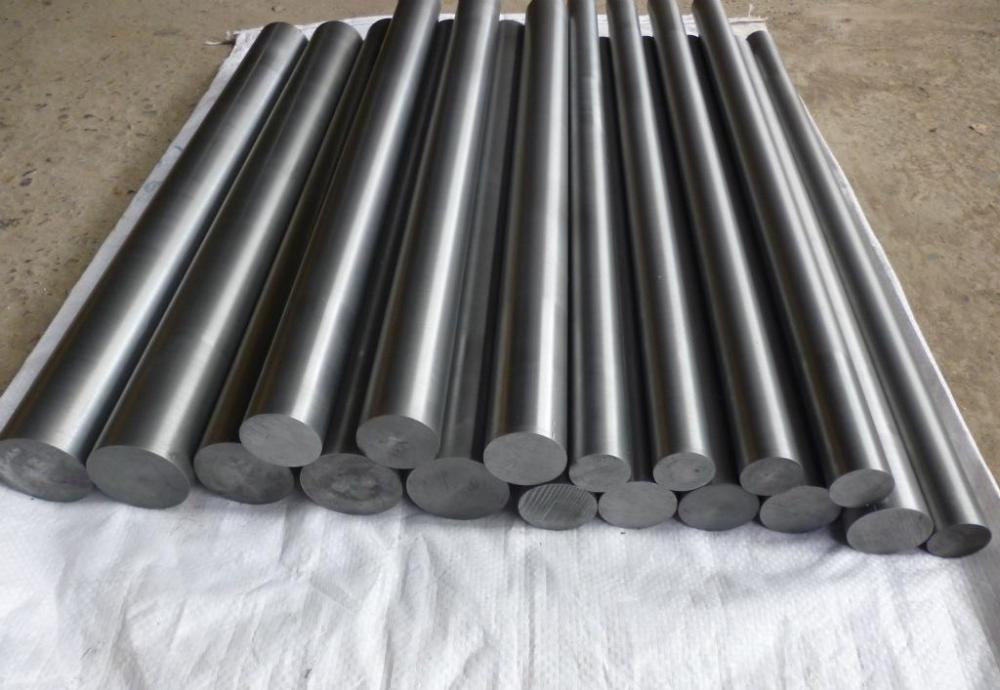 Black Pure Molybdenum Bar
