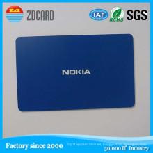 Tarjeta inteligente NFC de 13.56MHz con tarjeta inteligente
