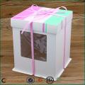 Plain White Cake Boxes With Window