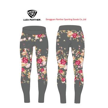 Tipo de fuente de servicio del OEM y mujeres de género Chicas con pantalones de yoga