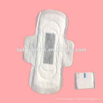 Un confort doux et respirant, une serviette hygiénique Side-Gather