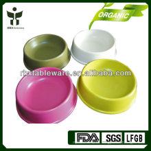 Ecológico de la planta de fibras perro cuenco conjuntos / pet bowl conjuntos