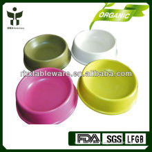 eco-friendly plant fiber dog bowl sets/pet bowl sets