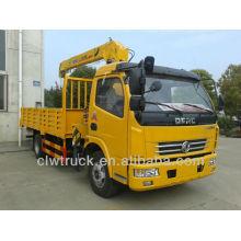 Hot Sale Dongfeng Mini Crane Truck, 4x2 used truck crane